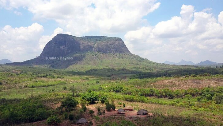 Mt Lico in northern Mozambique