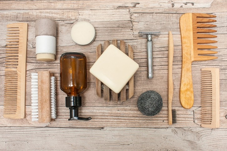 Wooden toiletries
